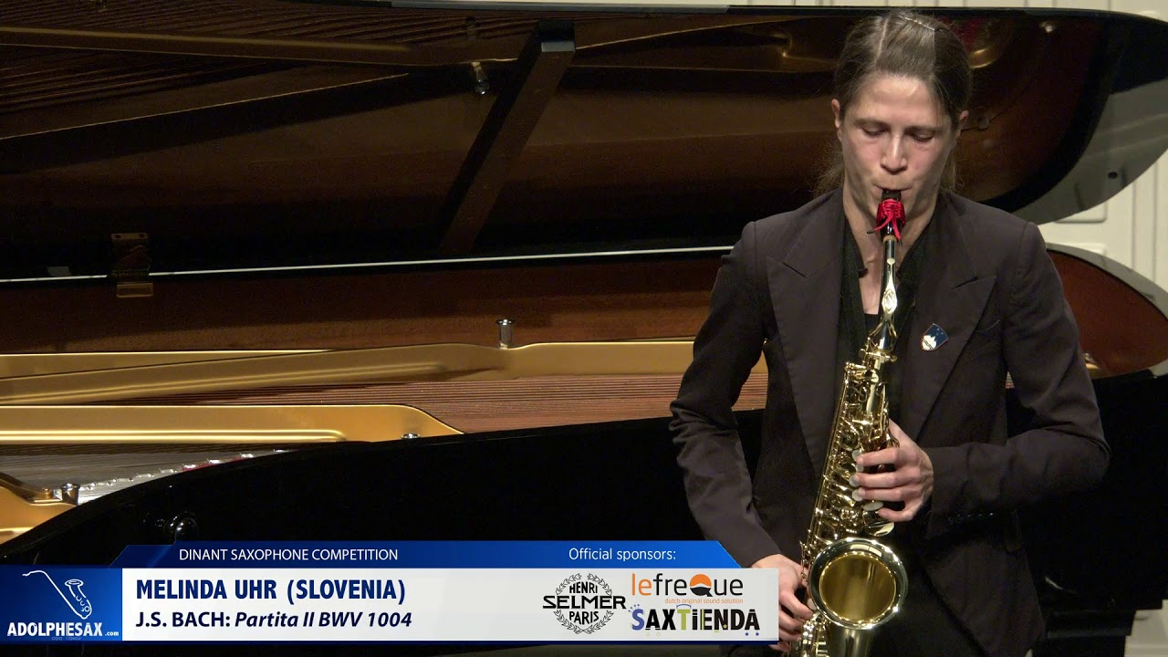 Melinda Urh (Slovenia) -  Partita II BWV 1004 by J.S.Bach (Dinant 2019)