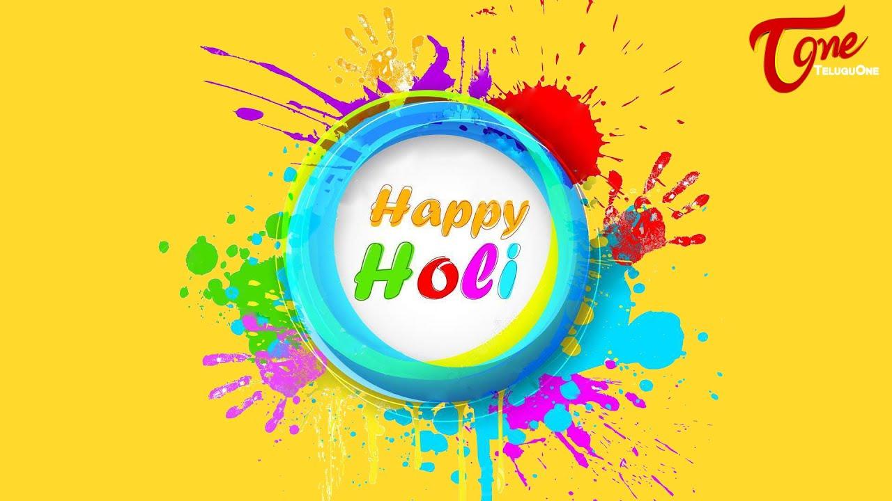 Happy holi best animated greetings youtube m4hsunfo