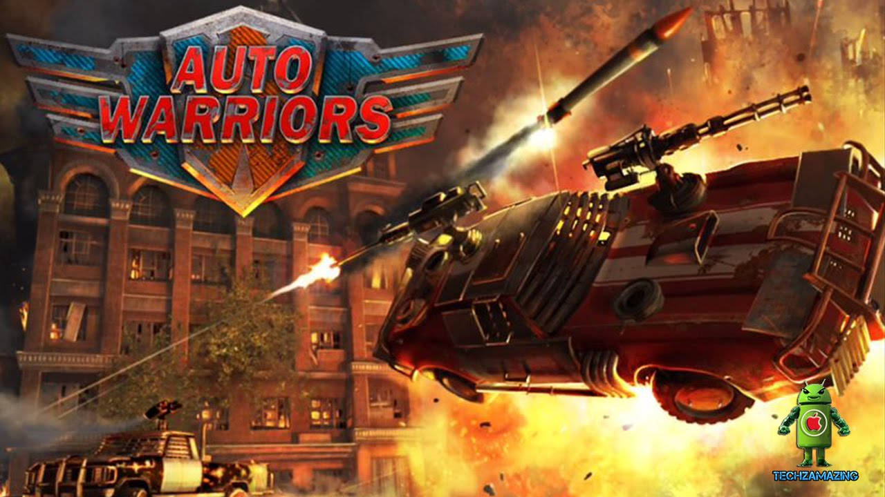 Auto Warriors Tactical Car Combat Ios Android Gameplay Hd Youtube