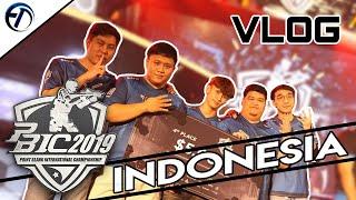 VLOG Indonesia การเดินทางไปแข่งขันใน อินโดนีเซีย PBIC 2019