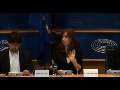 Cristina en Bruselas - Conferencia completa