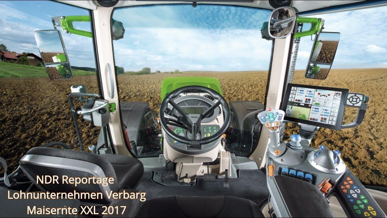 Ndr Reportage Lohnunternehmen Verbarg Maisernte Xxl 2017 Wie Geht