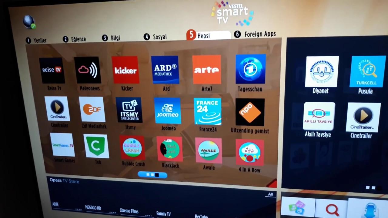 Telefunken Fernseher Vestel : 2018 gÜncel vestel smart tv İÇerİklerİ yeni surum regal seg finlux