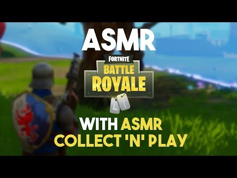 ASMR Gaming: Fortnite w/ ASMR Collect N' Play Ep. 6 (Gum Chewing)