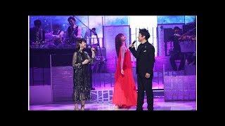 石丸幹二×新妻聖子『MUSIC FAIR』で圧巻のミュージカル名曲を披露.
