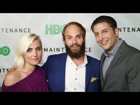 Ben Sinclair & Katja Blichfeld at HBO's