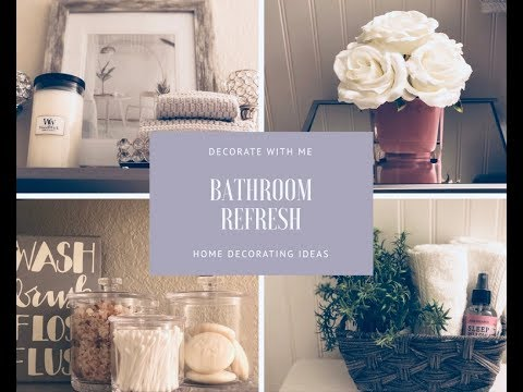 Spring Bathroom Refresh|Decorate With Me|Home Decorating Ideas
