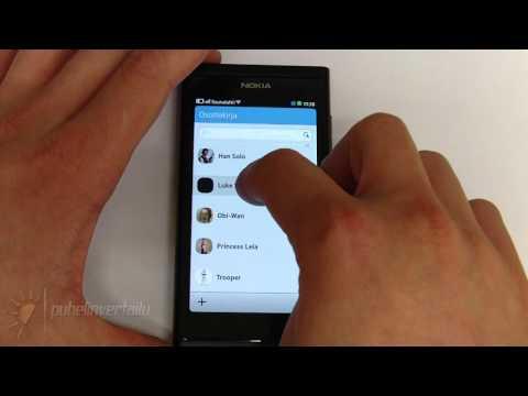 Nokia N9 - Viestit