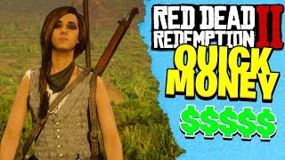 HOW TO MAKE QUICK MONEY IN RED DEAD REDEMPTION 2 ONLINE | RDR2 Fast Money Tips!