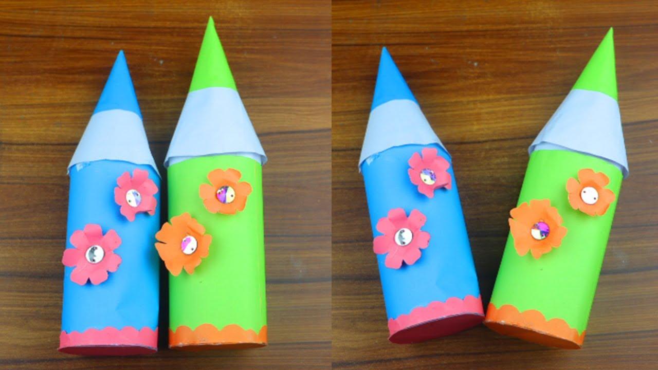 How to make paper-pencilbox|DIYpaper pencil box idea|Paper Craft/Origami/paper pencil box|pencil box