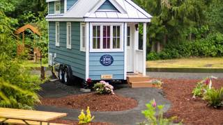 Amazing Zoe Tiny House From Mt. Hood Village Resort - Tinyhousetour