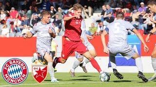 U19 fails to convert chances | FC Bayern vs. Red Star Belgrade 0-0 | Highlights - UEFA Youth League