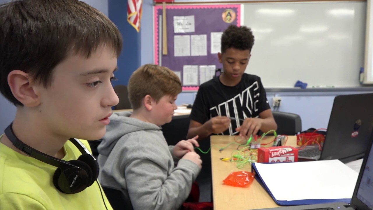 Education Spotlight-McIntosh Middle School-Coding