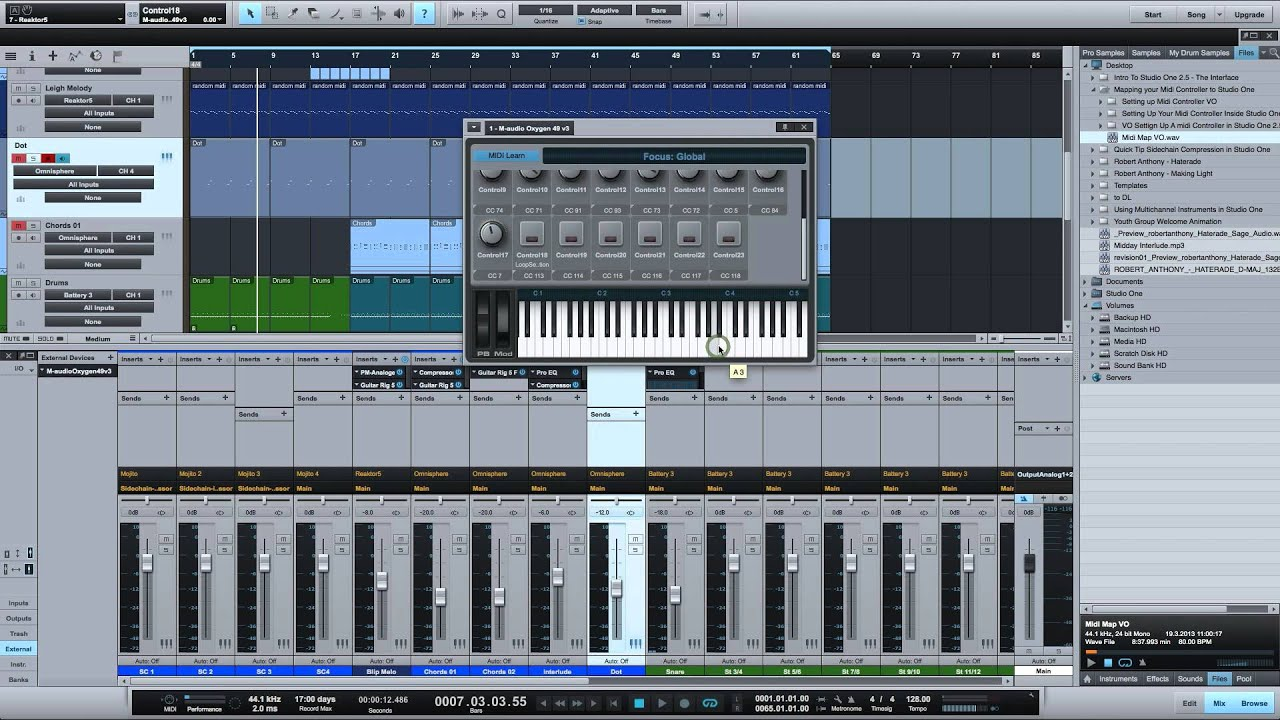Setting Up Your MIDI Controller Inside Studio One