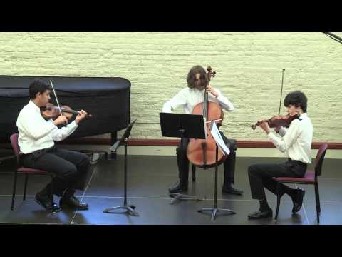 Chicago Chamber Music Workshop Final Concert - Beethoven Trio #1 in G