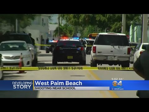 Police Investigate Shooting Near Elementary School In West Palm Beach