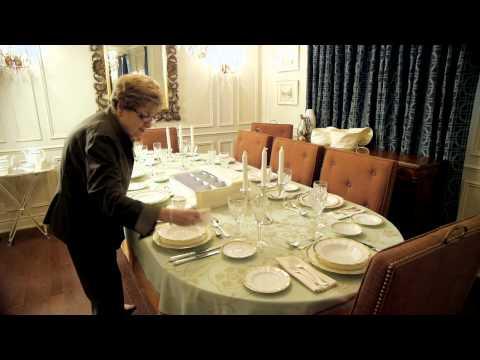 Marathon Housewares - Damask China Storage Dish Case Set