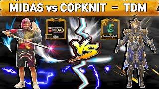 Midas VS COPKNIT 1v1 TDM use M4 & M24   I challenged Asia No. 1 Player for TDM Match   PUBG MOBILE