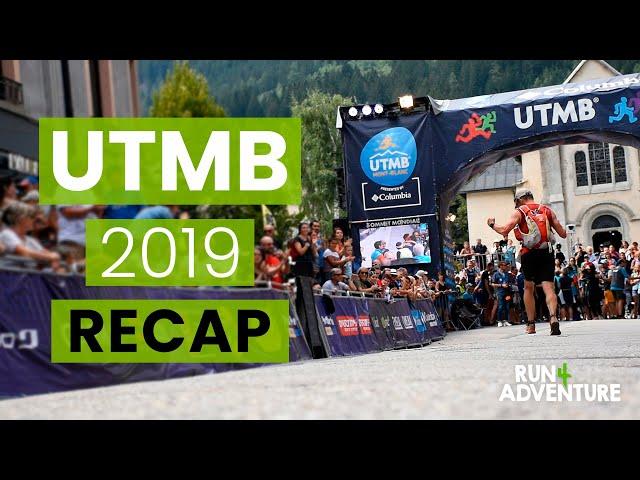 UTMB 2019 Recap | Run4Adventure