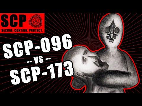 SCP-096 vs SCP-173 illustrated TERMINATION ATTEMPT 1/11