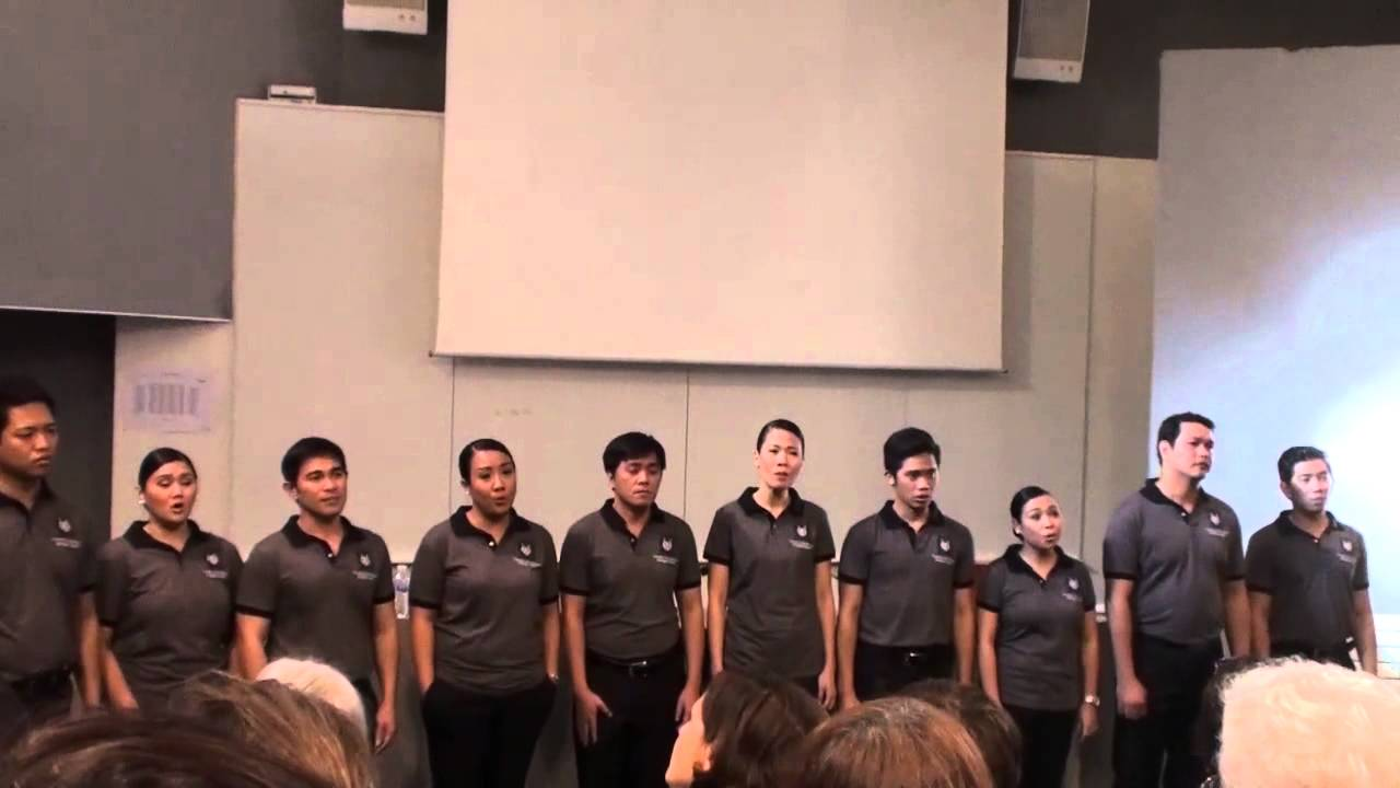 University of the Philippines Madrigal Singers - YouTube