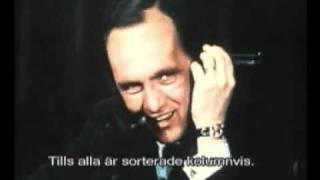 IBM Comedy 1970: Bob Newhart - A Call From Herman Hollerith