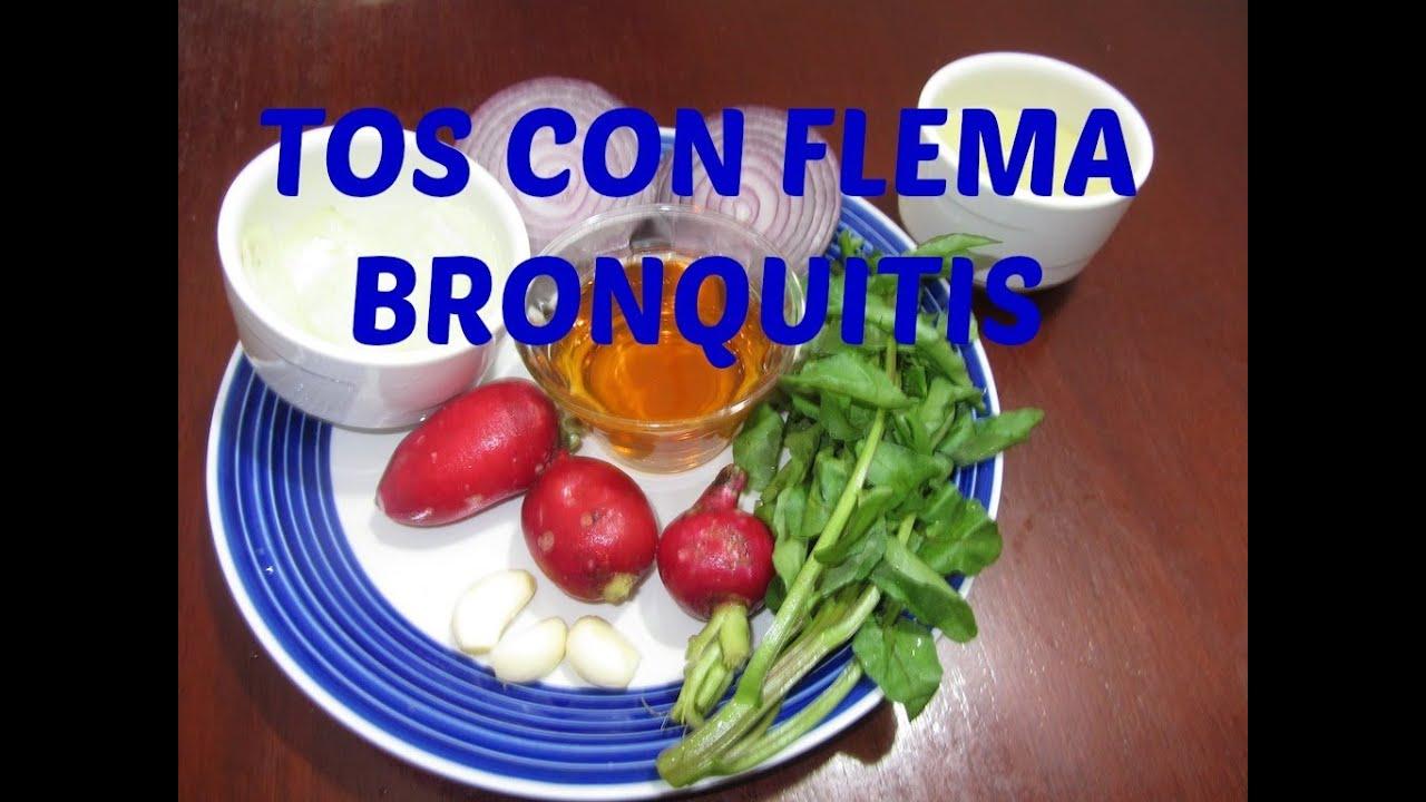 Tos con flemas, Bronquitis... - YouTube
