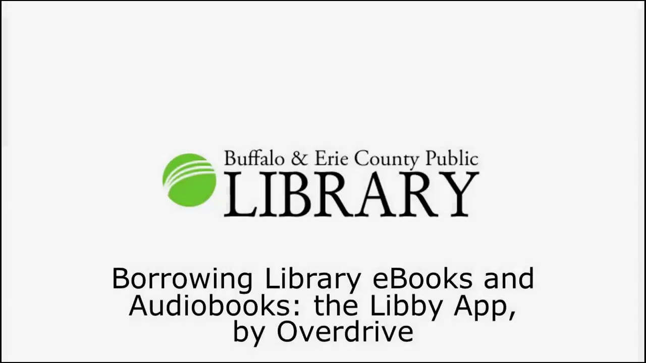 Library eBooks and Audiobooks: the Libby App, by Overdrive