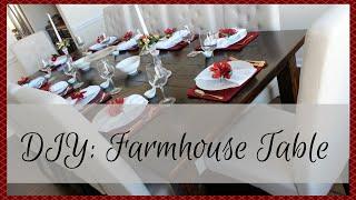 Home Decor: Diy Farmhouse Table