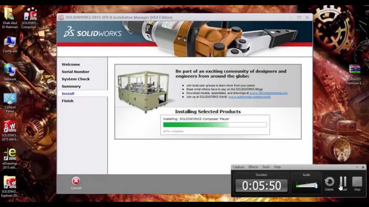 SolidWorks  SP Setup YouTube - Solidworks electrical schematic serial number