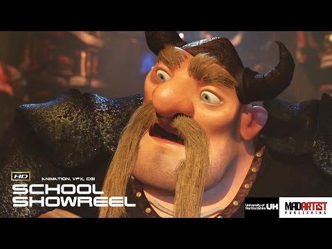 "CGI 3D Animation School Reel: ""UNIVERSITY OF HERTFORDSHIRE"" 2015 Digital Animation Showcase"