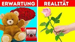 ROMANTISCHE GESCHENKE: ERWARTUNG VS. REALITÄT