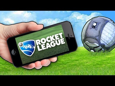 You Can Actually Play Rocket League On Mobile...
