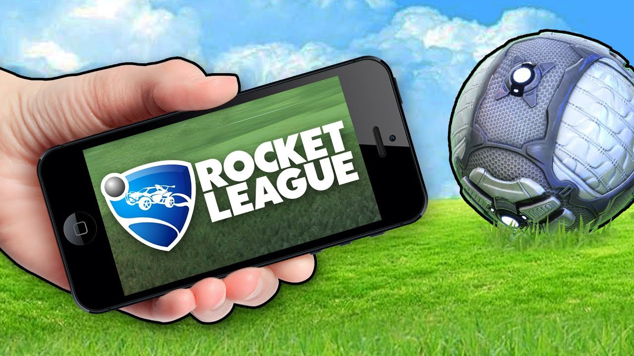 You can actually play Rocket League on mobile