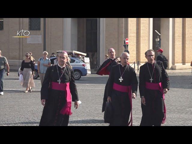Visite ad limina : les évêques fortifiés par la confiance de la Curie