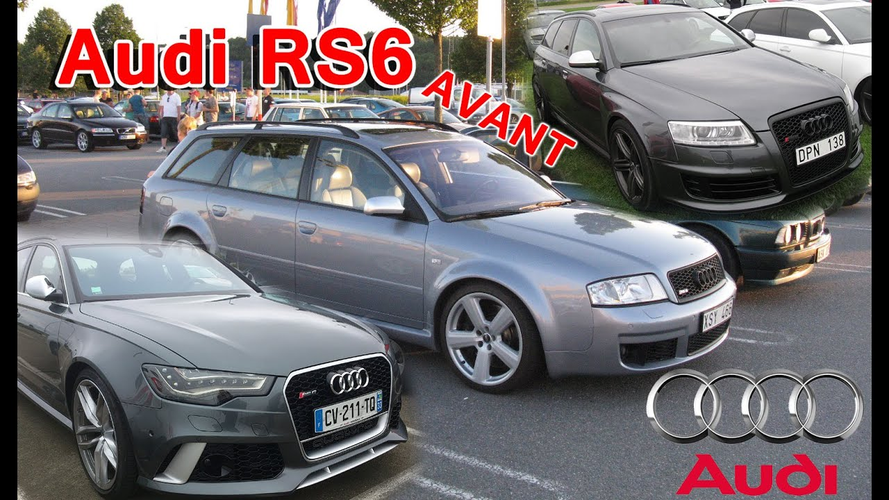 Audi Garage Roermond : Audi rs avant generations of the superfast estate cars