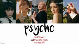 Red velvet (레드벨벳) Psycho 'terjemahan indoneisa'