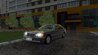 City Car Driving 1.5.3 - Mercedes-Benz S600 W140