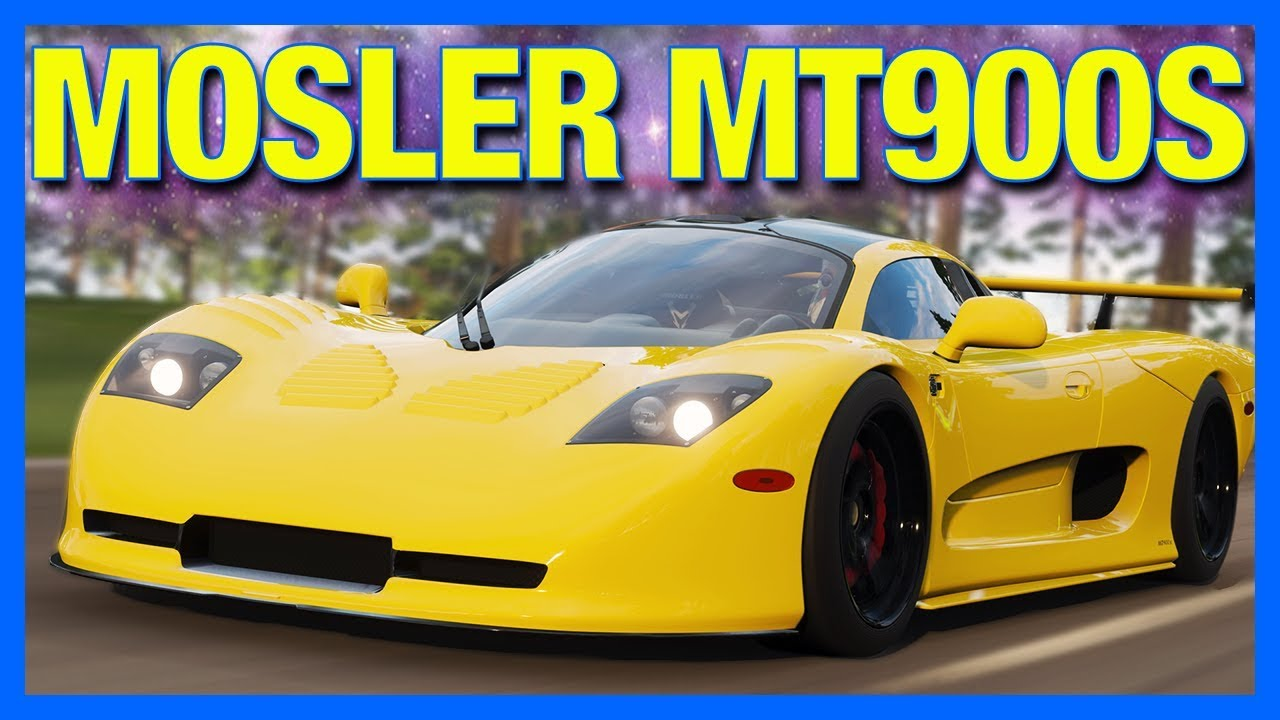 Forza Horizon 4 Mosler Mt900s Customization How To Unlock The Mosler In Fh4 Youtube