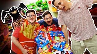 EATING 10,000 CANDY BARS!! (GROSS) 😷😫