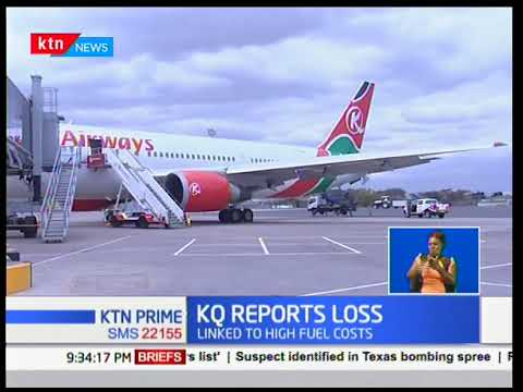 Kenya Airways report a Ksh6.1 Billion net loss linked to high fuel costs