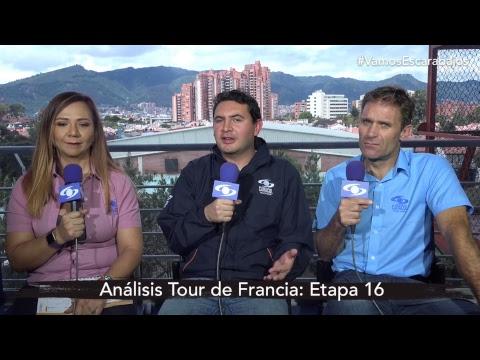 'Goga' Ruiz y Santiago Botero analizan la etapa 16 del Tour de Francia I Noticias Caracol