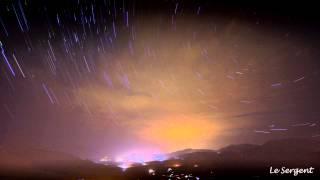 Explosion mystérieuse dans le ciel Corse suivie d'une lueur vive et d'une déflagration