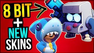 NEW BRAWLER 8 BIT PREDICTION u0026 NEW SKINS! Brawl Talk Breakdown!