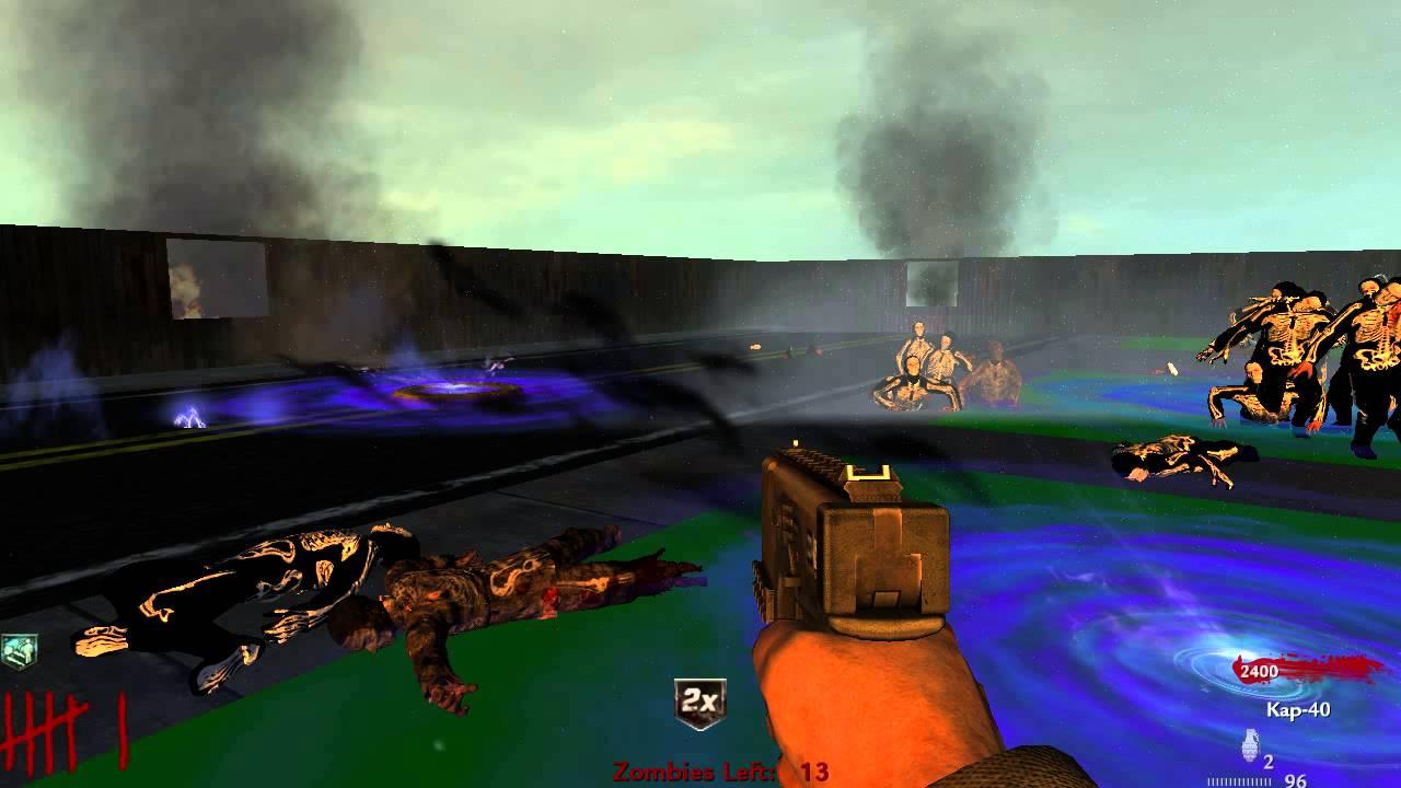 ♧ Call of Duty World at War Custom Zombie Map - Nazi Zombie Family ...