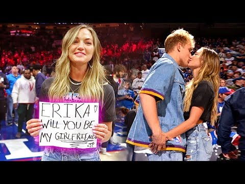 I FINALLY ASKED ERIKA TO BE MY GIRLFRIEND ON CAMERA!!