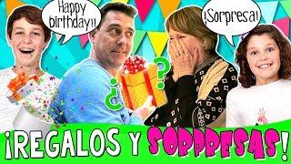 Baixar 🎁 ¡¡REGALOS para TODOS y Súper SORPRESAS!! 🎂 CELEBRAMOS 3 Cumpleaños PAPI + Tía MIMI + Abuela MAX