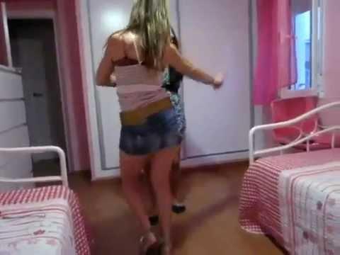 """2 Chicas - Bailando """"Me Matan Las Ganas"""" de NJC La Melodia Del Cielo"""