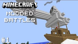 Minecraft: Modded Building Battles - Ep. 1 - ARCHIMEDES SHIPS