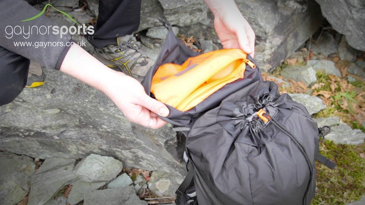 Lighweight hiking walking rucksack Lowe Alpine AirZone Trail 35